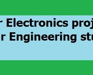 Electrical power engineering thesis topics